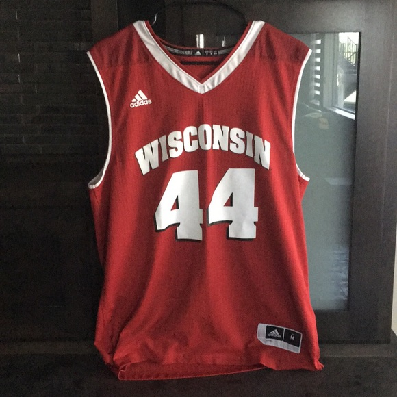 premium selection 8dc0d 8bbe6 Wisconsin Badgers Basketball Jersey